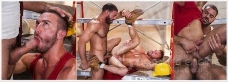 Ricky Larkin, Grant Ryan - Raw Construction Scene 4 [FullHD 1080p/RagingStallion/2019]
