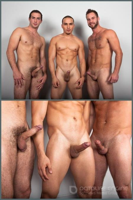 Christian Sharp, Chris Bines, Marcel Cruz - RB2555 Chris, Christian & Marcel [HD 720p/RandyBlue/2019]